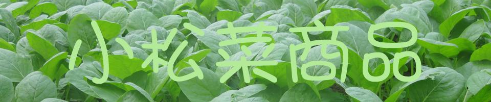小松菜商品